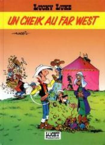 Couverture de l'album Lucky Luke - HS. un cheik au far west