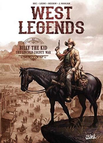 Couverture de l'album West Legends - 2. Billy the Kid - the Lincoln county war