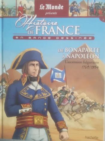 Couverture de l'album Histoire de France en bande dessinée (2019) - 2. De Bonaparte à Napoléon