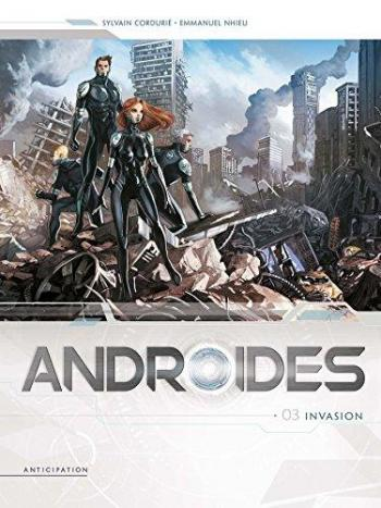 Couverture de l'album Androïdes - 3. Invasion