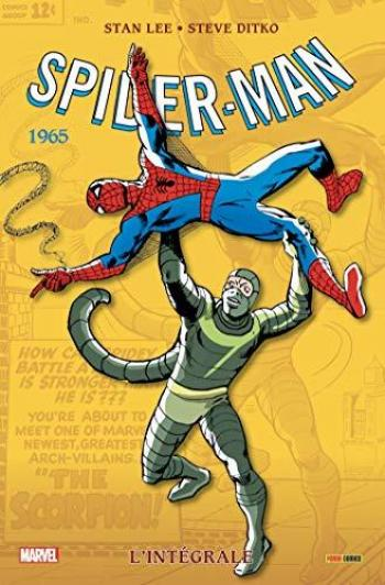 Couverture de l'album Spider-Man (L'Intégrale) - 3. (1965) NED