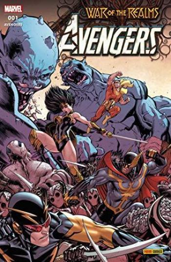 Couverture de l'album Avengers (V7, Fascicules) - 1. La crise des dix royaumes
