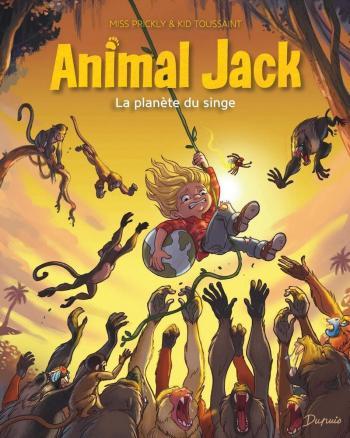 Couverture de l'album Animal Jack - 3. La planète du singe