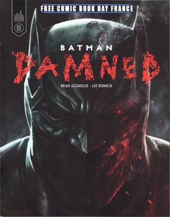 Couverture de l'album Batman - Damned (One-shot)