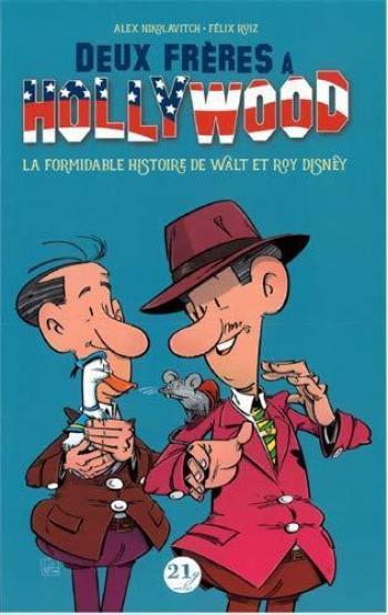Couverture de l'album Walt Disney : 2 Frères à Hollywood (One-shot)