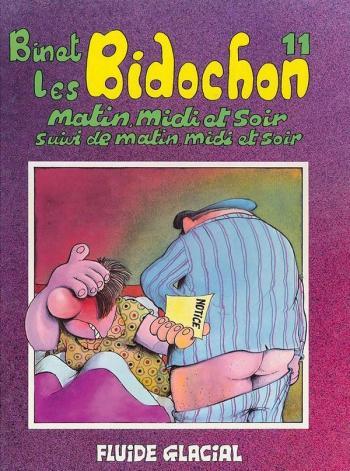 Couverture de l'album Les Bidochon - 11. Matin, midi et soir suivi de matin, midi et soir