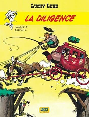 Couverture de l'album Lucky Luke - 32. La Diligence