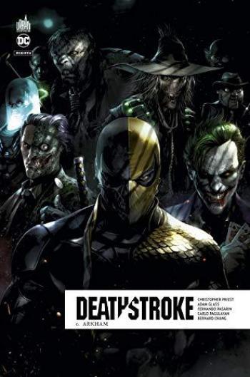 Couverture de l'album Deathstroke Rebirth - 6. Arkham