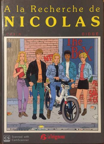 Couverture de l'album À la recherche de Nicolas (One-shot)