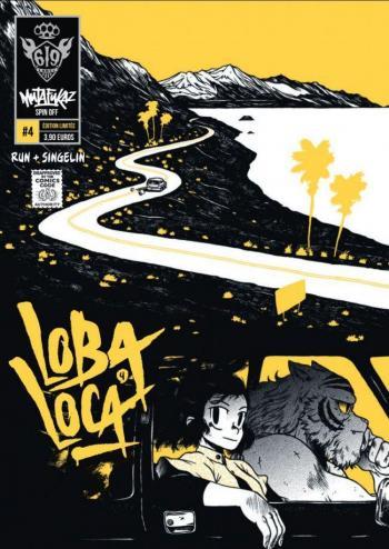 Couverture de l'album Mutafukaz' Loba Loca - 4. Tome 4
