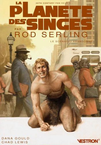 Couverture de l'album Vestron - 24. La Planète des singes par Rod Serling - Le scénario abandonné