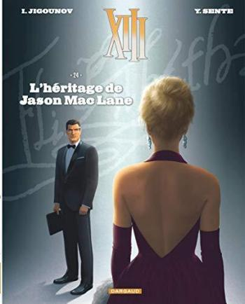 Couverture de l'album XIII - 24. L'Héritage de Jason Mac Lane