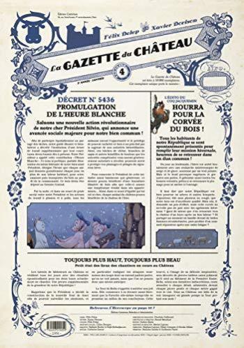 Couverture de l'album Le Château des animaux (Gazette) - 4. La gazette du château