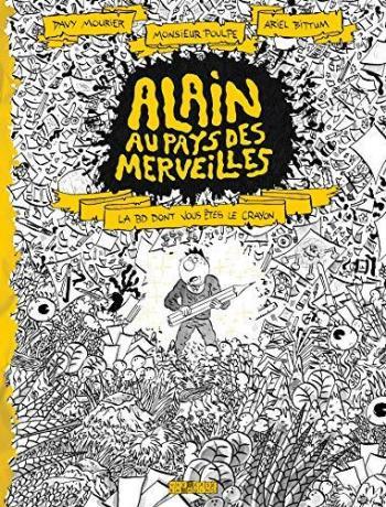 Couverture de l'album Alain au pays des merveilles (One-shot)