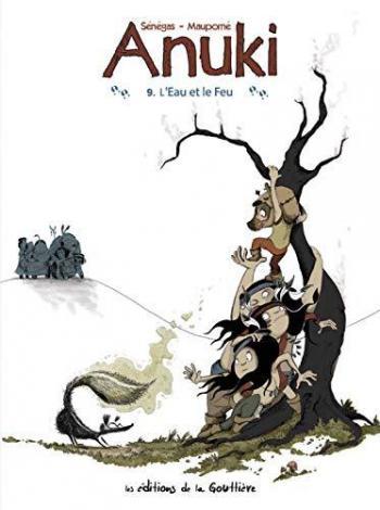 Couverture de l'album Anuki - 9. L'Eau et le Feu