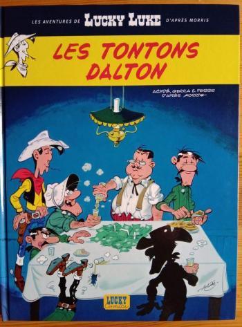 Couverture de l'album Les Aventures de Lucky Luke d'après Morris - 6. Tontons Dalton (Les)
