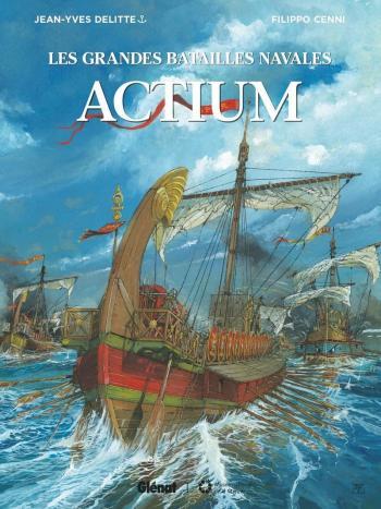 Couverture de l'album Les Grandes Batailles navales - 14. Actium
