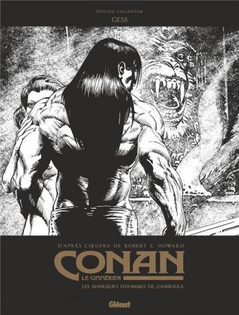 Couverture de l'album Conan le Cimmérien - 9. Les mangeurs d'hommes de Zamboula