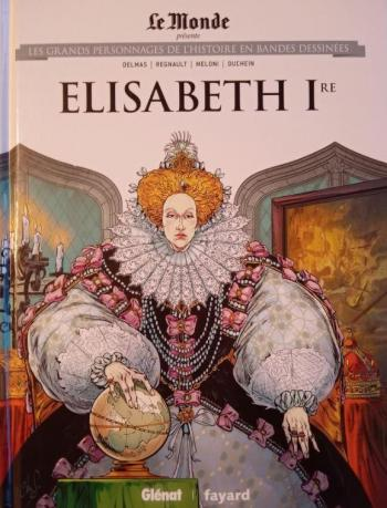 Couverture de l'album Les Grands Personnages de l'Histoire en BD - 29. Elisabeth 1re