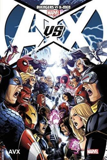 Couverture de l'album Avengers vs X-Men (Marvel Deluxe) - 1. Avengers vs X-Men Tome 01