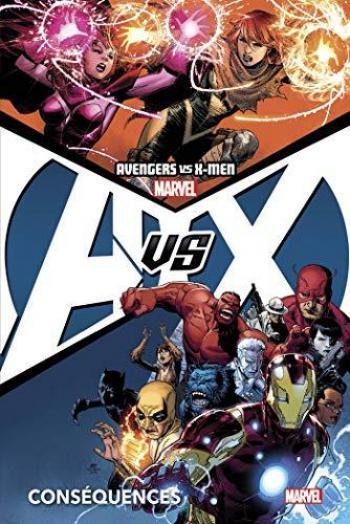 Couverture de l'album Avengers vs X-Men (Marvel Deluxe) - 2. Conséquences