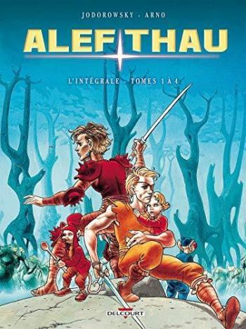 Couverture de l'album Les Aventures d'Alef-Thau - INT. Intégrale tomes 1 à 4