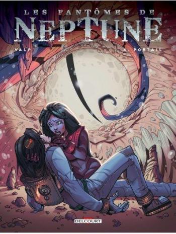 Couverture de l'album Les Fantômes de Neptune - 4. Portail