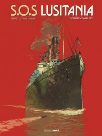 Couverture de l'album S.O.S. Lusitania - INT. S.O.S. Lusitania-Intégrale