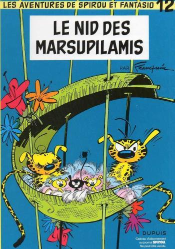 Couverture de l'album Spirou et Fantasio - 12. Le nid des Marsupilamis