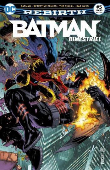 Couverture de l'album Batman Bimestriel - 5. Tome 5