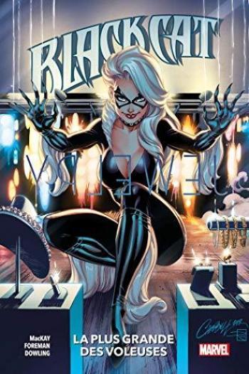 Couverture de l'album Black Cat (Marvel) - 1. La plus grande des voleuses