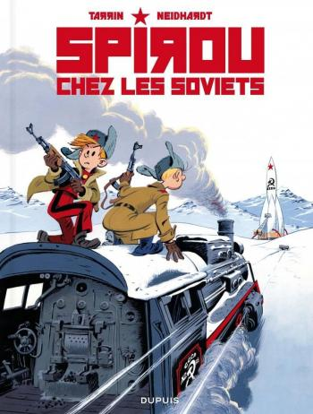 Couverture de l'album Une aventure de Spirou et Fantasio par... (Le Spirou de…) - 17. Spirou chez les Soviets