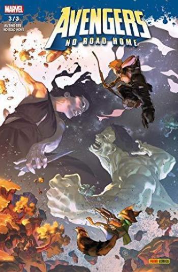 Couverture de l'album Avengers: No Road Home - 3. Nuit noire (3/3)