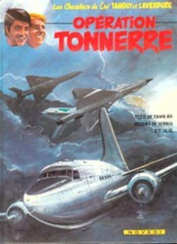 Couverture de l'album Tanguy et Laverdure - 20. Opération Tonnerre