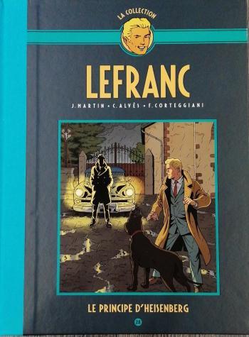 Couverture de l'album Lefranc - La Collection (Hachette) - 28. Le Principe d'heisenberg