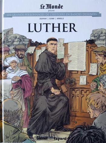 Couverture de l'album Les Grands Personnages de l'Histoire en BD - 31. Luther