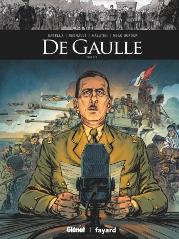 Couverture de l'album Ils ont fait l'Histoire - 34. De Gaulle 2/3