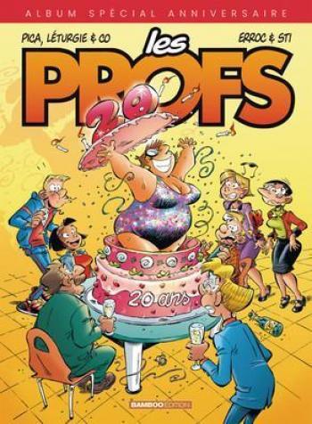 Couverture de l'album Les Profs - HS. L'Album des 20 Ans