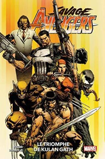 Couverture de l'album Savage Avengers - 1. Le triomphe de Kulan Gath