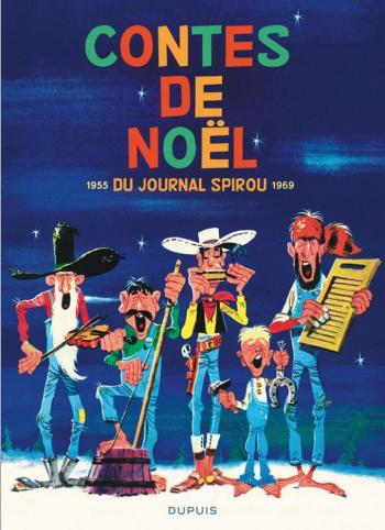 Couverture de l'album Contes de Noël du Journal Spirou - 1. 1955-1969
