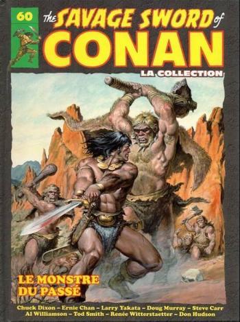 Couverture de l'album The savage sword of Conan - La collection - 60. Le monstre du passé