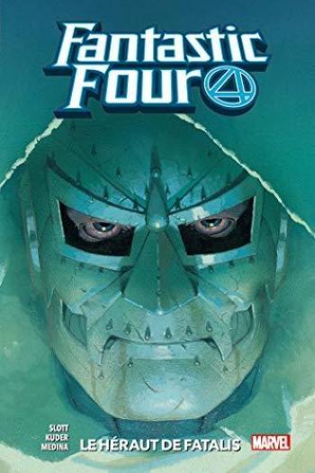 Couverture de l'album Fantastic Four 4 (2018) - 3. Le héraut de Fatalis
