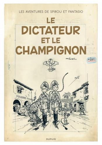 Couverture de l'album Spirou et Fantasio - 7. Le dictateur et le champignon
