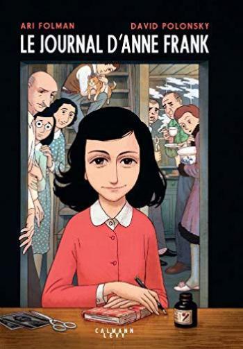 Couverture de l'album Le Journal d'Anne Frank (Calmann-Lévy) (One-shot)
