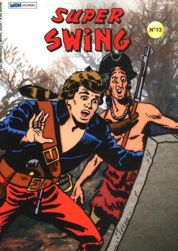 Couverture de l'album Super Swing (2e Série) - 13. Le fantôme de Mister Bluff (1)
