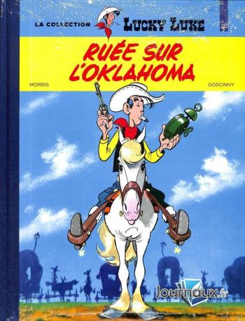 Couverture de l'album Lucky Luke - La Collection (Hachette) - 14. Ruée sur l' Oklaoma