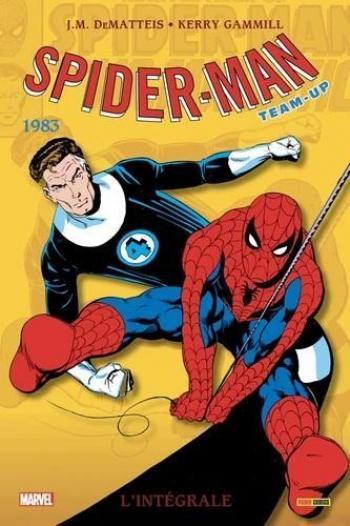 Couverture de l'album Spider-Man - Team-Up (L'intégrale) - 10. 1983