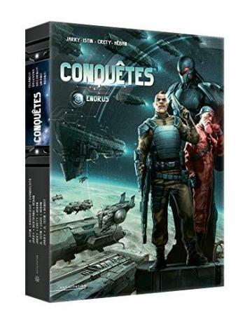 Couverture de l'album Conquêtes - COF. Coffret tomes 1 à 5
