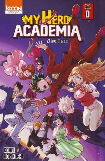 Couverture de l'album My Hero Academia - 0. Two Heroes