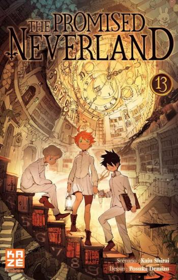 Couverture de l'album The Promised Neverland - 13. Le Roi du Paradis